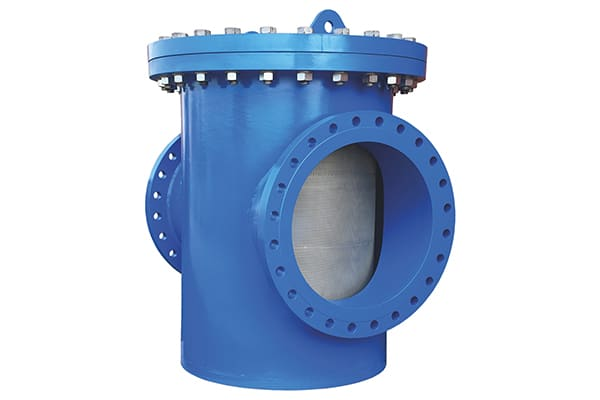BASKET STRAINER - A basket strainer is a device that uses a mesh screen to filter out foreign particles in a horizontal pipeline.