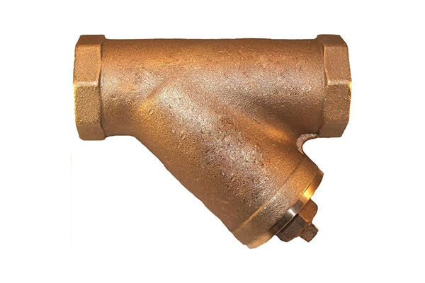 CAST BRONZE Y STRAINER